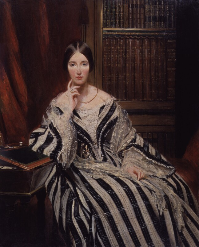 Angela Burdett-Coutts. Baroness Burdett-Coutts, artist unknown, oil on panel, ca. 1840.  Source: National Portrait Gallery, London, NPG 6181. Used under Creative Commons License (CC BY-NC-ND 3.0)