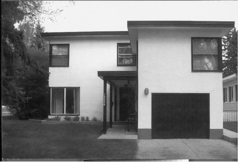 William Blakey Residence, Edmonton. This striking International Style home is significant for its design and for its association with the prominent local architect, William Blakey.
